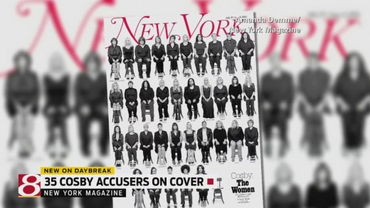 35 Bill Cosby accusers tell their story in New York Magazine