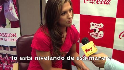 Alex Morgan: la Copa Coca-Cola, su novio mexicoamericano y el Mundial