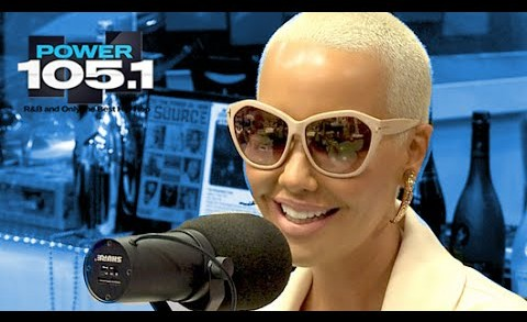 Amber Rose Interview at The Breakfast Club Power 105.1 (02/13/2015)