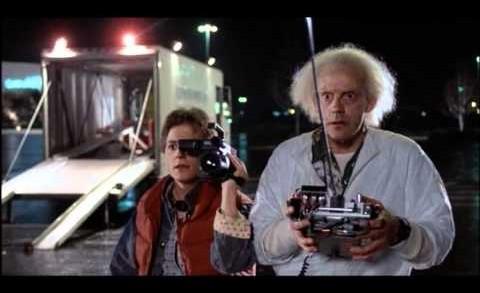 Back To The Future [1985] – The DeLorean