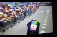 Daniel Teklehaymanot at Tour De France