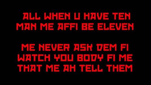 Dexta Daps 7Eleven LYRICS CLEAN @DancehallLyrics