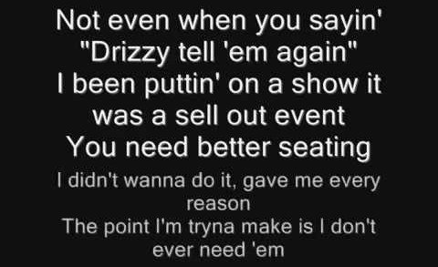 Drake – Back to Back (Lyrics)