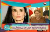 Escándalo en la casa de Demi Moore