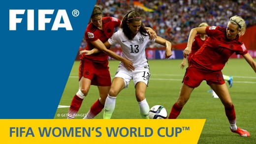 HIGHLIGHTS: USA v. Germany – FIFA Women's World Cup 2015