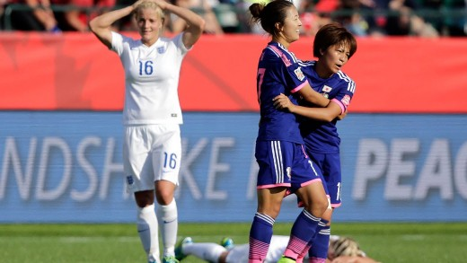 Japan vs. England Recap – FIFA Women's World Cup 2015