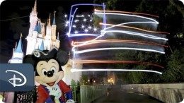 Light-Painting Magic   Fourth of July   Walt Disney World Resort