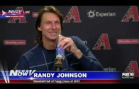 LIVE: Randy Johnson Talks About his Baseball Hall of Fame Election