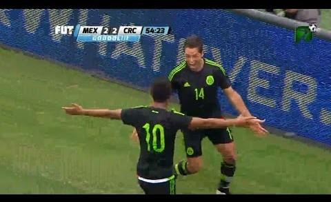 Mexico vs Costa Rica Goles y Resumen Completo Amistoso 2015 HD