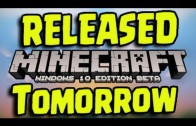 Minecraft Windows 10 – RELEASED TOMORROW! (New Minecraft Version)