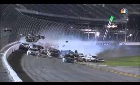 NASCAR Sprint Cup Daytona 2015 CZ 400 Dillon Huge Cra