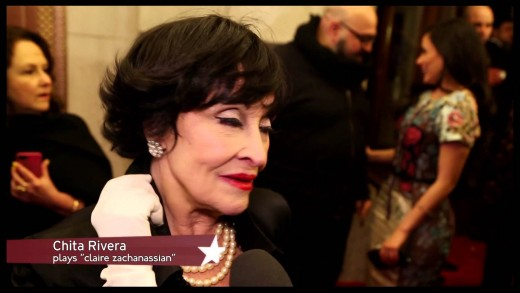 Opening NIght: Chita Rivera, Roger Rees, John Kander & More on Broadway Musical THE VISIT