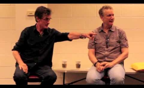 Rick Elice and Roger Rees BTW 2012