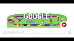 Special Olympics World Games 2015 Los Angeles Google Doodle
