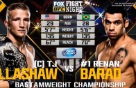 T.J. Dillashaw vs. Renan Barao 2 RESULT