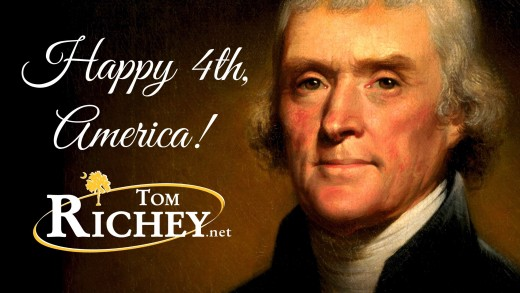 The Declaration of Independence (Recited by Tom Richey in London)
