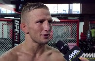 UFC on FOX 16: T.J. Dillashaw Thinks Feud Has Been 'Blown Out of Proportion'