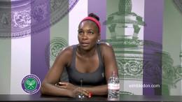 Venus Williams Fourth Round Press Conference