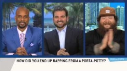 Wild and hilarious Action Bronson interview on ESPN