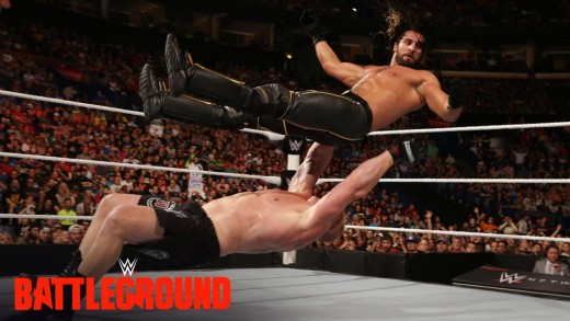 WWE Network: Brock Lesnar welcomes Seth Rollins to Suplex City: WWE Battleground 2015