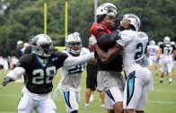 Cam Newton and CB Josh Norman get into Fight After Cam Throws A Pick