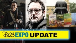 D23 Expo 2015 Star Wars – Rogue One's Donnie Yen, Colin Trevorrow, Theme Park – Beyond The Trailer