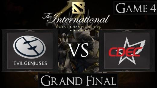 Dota 2 The International 2015 Grand Final EG vs CDEC