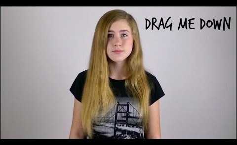 Drag Me Down – One Direction – Cover by Samantha Potter