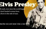 Elvis Presley — Hard Headed Woman — Lyrics (Official)