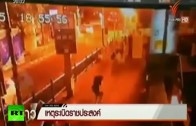 FIRST VIDEO: Moment of Bangkok bomb explosion caught on CCTV