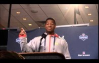 Full Jameis Winston interview NFL Combine, says shoulder is fine