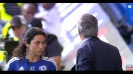 Full video emerges of Chelsea's Jose Mourinho & Eva Carneiro's crazy touchline argument