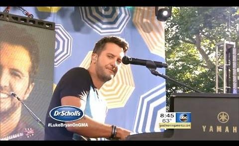 [HD] Luke Bryan – Strip It Down – GMA Summer Concert