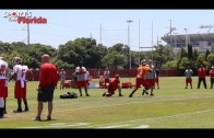 Jameis Winston at Tampa Bay Buccaneers Rookie Camp