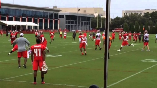 Jameis Winston's Second Day of Training Camp-2015