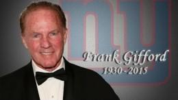 Jim Nantz remembers Frank Gifford