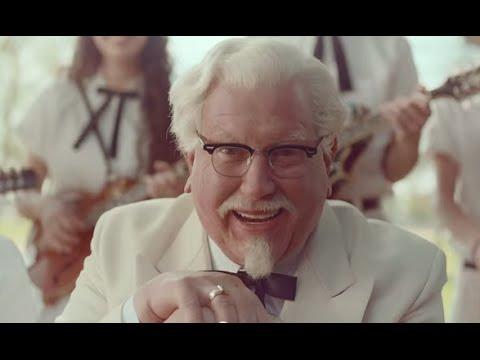 Kfc Commercial 2015 Creepy KFC Darrell Hamm...