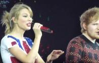 Lego House – Taylor Swift & Ed Sheeran – Red Tour – London 1/2/14