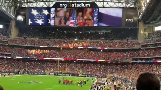 National Anthem – Nicholas Connors – Houston Texans 8/15/15