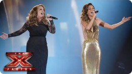 Sam Bailey sings And I'm Telling You with Nicole Scherzinger – Live Week 10 – The X Factor 2013