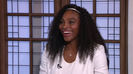 Serena Williams ESPN interview with Chris Evert and Pam Shriver about winning Wimbledon 2015