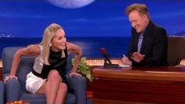 """Sharon Stone Recreates Her """"Basic Instinct"""" Leg Cross"""