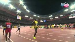 Usain Bolt 9.96 Men's 100m Heat 7 IAAF World Championship Beijing 2015