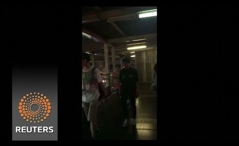 Video shows moment of Bangkok blast