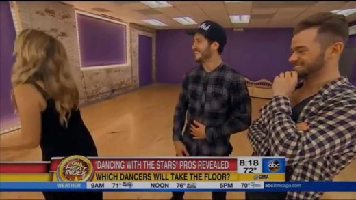 Dancing with the Stars Season 21 Pros Revealed on Good Morning America   LIVE 8 19 15