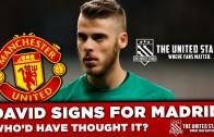 David De Gea leaves Manchester United