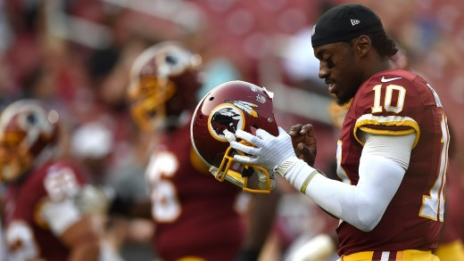 ESPN First Take – Who Has More Potential: RG3 or Johnny Manziel