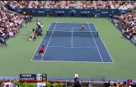 Federer VS Djokovic – US Open Semifinal 2009 Highlights (HD)