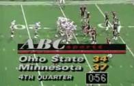 Flashback Friday – 1989 Big Ten Football Greatest Games-Ohio State vs. Minnesota