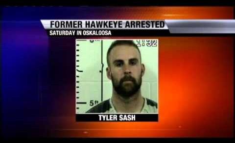 Former Hawkeye Tyler Sash Arrested